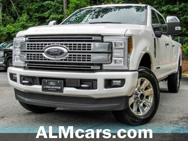 Pre-Owned 2018 Ford Super Duty F-250 SRW Platinum