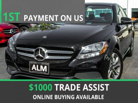 Pre-Owned 2017 Mercedes-Benz C-Class C 300 RWD 4dr Car