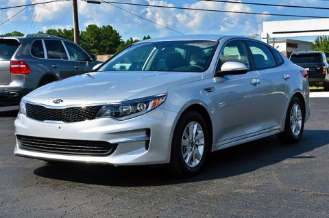 Pre-Owned 2018 Kia Optima LX FWD 4dr Car