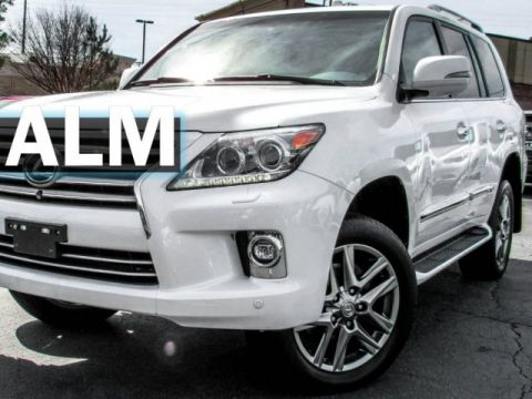 Pre-Owned 2014 Lexus LX 570 Base With Navigation & 4WD
