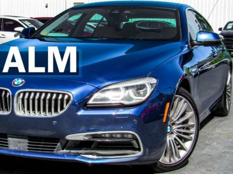 Pre-Owned 2016 BMW 6 Series 650i xDrive Gran Cou