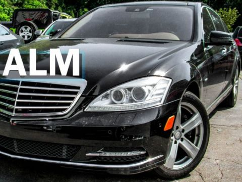 Pre-Owned 2012 Mercedes-Benz S-Class S 550 With Navigation