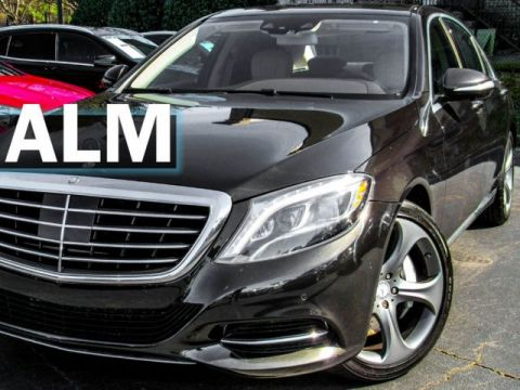 Pre-Owned 2015 Mercedes-Benz S-Class S 550 With Navigation